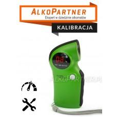 Kalibracja z wymianą sensora Alkomatu AL-6000 Green
