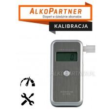 Kalibracja z wymianą sensora Alkomatu AL-7000