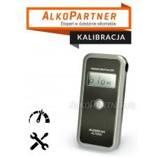Kalibracja z wymianą sensora Alkomatu AL-7000 Lite