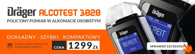 Alkomat Drager Alcotest 3820